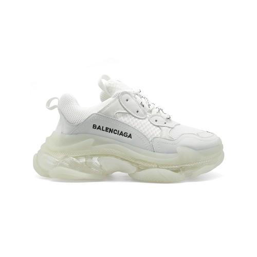 Мужские кроссовки Balensiaga Triple S Transparent White