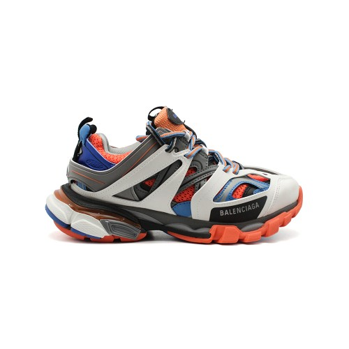Женские кроссовки Balensiaga Track Trainer Blue-Grey-Orange