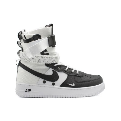 Мужские кроссовки Nike SF AF1 Special Field Air Force 1 Black White