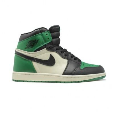 Купить Мужские кроссовки Nike Air Jordan 1 RETRO PINE GREEN