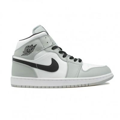 Купить Мужские кроссовки Nike Air Jordan 1 Mid Smoke Grey