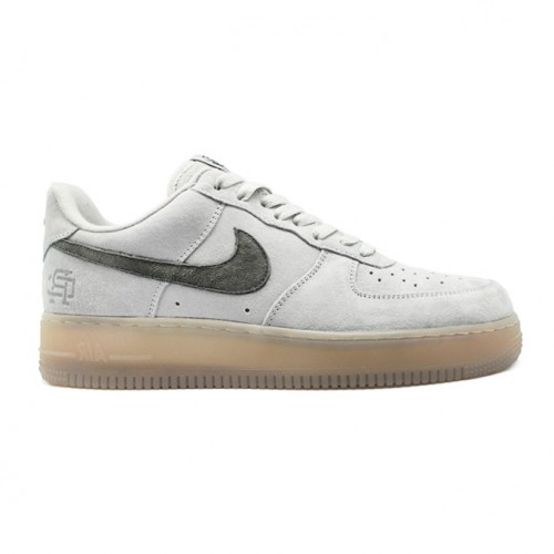Мужские кроссовки Nike Air Force 1 X Reigning Cham Low All-Match Sneakers Gray Deep Grey