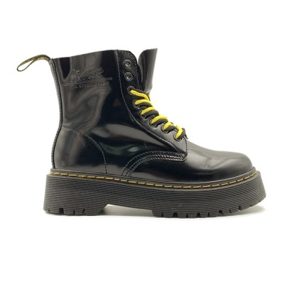 Женские ботинки Dr. Martens Black Jadon Patent Black  - BeInKeds.ru