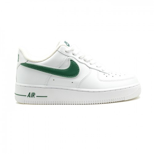 Мужские кроссовки Nike Air Force AF-1 Low White-Green
