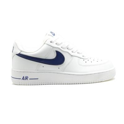 Купить Женские кроссовки Nike Air Force AF-1 Low White-Navy