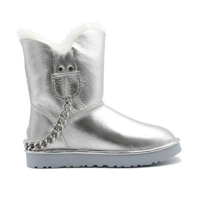 Classic Short Silver Chain  купить недорого на beinkeds.ru