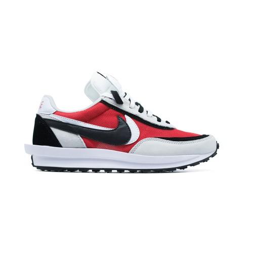 Мужские кроссовки Nike LDV Waffle x Sacai White-Red