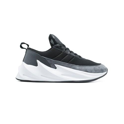 Кроссовки женские Adidas Shark Black - Grey