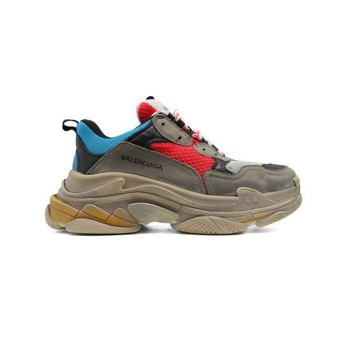 Мужские  кроссовки Balenciaga Triple S Multicolor 001