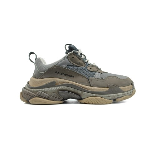 Мужские  кроссовки Balenciaga Triple S Dark Grey