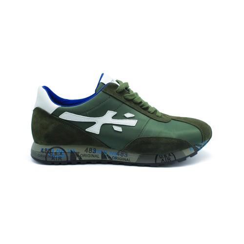 Мужские кроссовки Premiata Hattori Sneakers Army Green