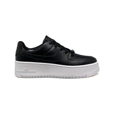 Купить Женские кроссовки Nike Air Force AF-1 Low White-Black