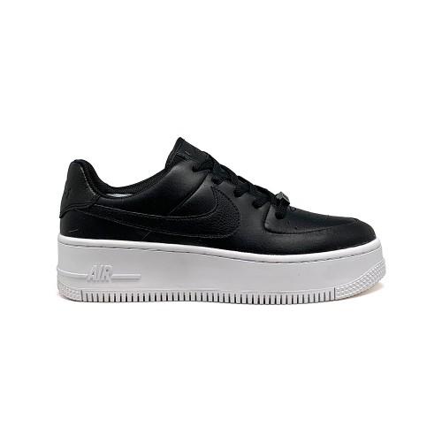 Женские кроссовки Nike Air Force AF-1 Low White-Black