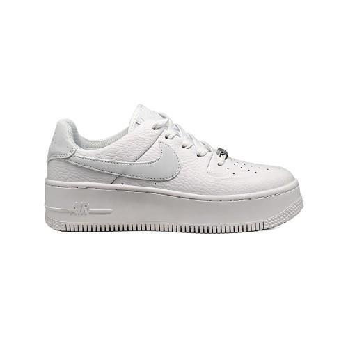 Женские кроссовки Nike Air Force AF-1 Low White 1