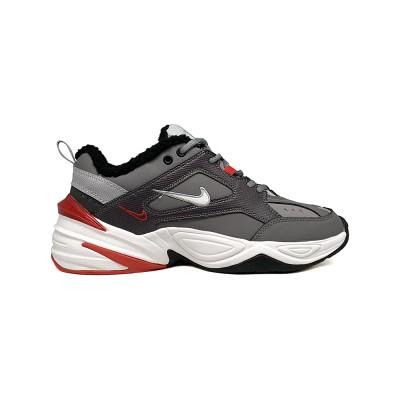 Купить Мужские зимние женские кроссовки Nike M2K Tekno Grey