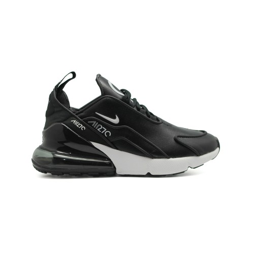 Женские кроссовки Nike Air Max 270 x OFF White Leather Black-white