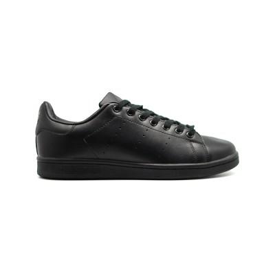 Мужские кроссовки Adidas Stan Smith CF Black - люди в черном
