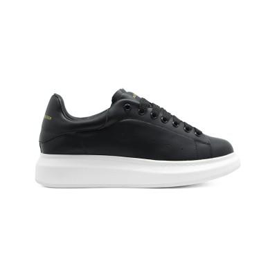 Купить Мужские кроссовки Alexander McQueen Luxe Black за 8490 рублей!