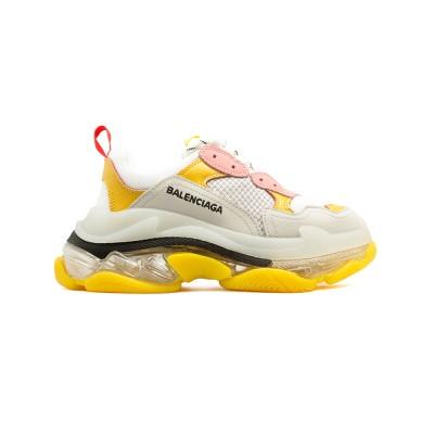 Купить Женские кроссовки Balensiaga Triple S 2.0 White-Yellow