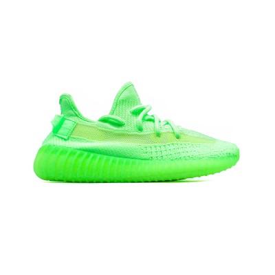 Купить Кроссовки мужские Adidas Yeezy Boost V2 Neon - Gid Glow и оценить их качество