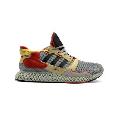 Купить Кроссовки мужские Adidas Wmns AlphaEdge 4D Grey-Red-Yellow  и оценить их качество