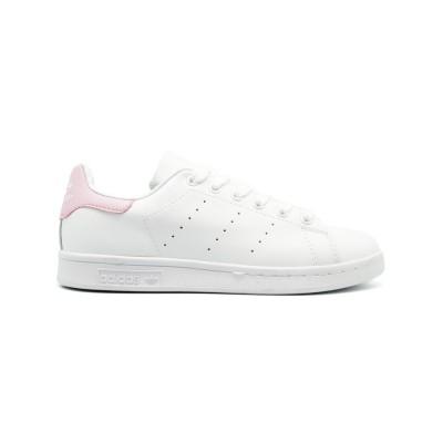 Женские кроссовки Adidas Stan Smith White-Pink