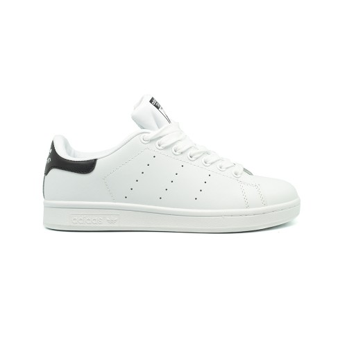 Женские кроссовки Adidas Stan Smith Leather White-Black