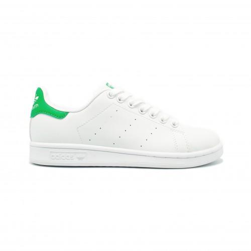 Женские кроссовки Adidas Stan Smith White-Green