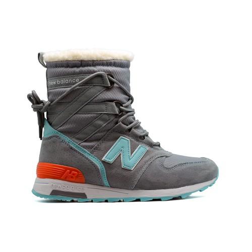 Зимние New Balance Женские Grey