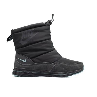 Дутики зимние Nike Grey