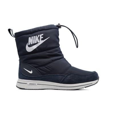 Дутики зимние Nike Navy