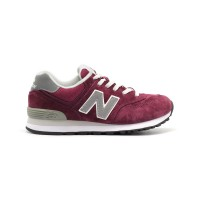 New Balance Женские 574 Bordeux Grey