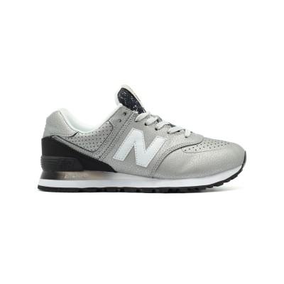 New Balance Женские 574 Gradient Silver