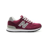 New Balance Женские 574 Bordeux Grey R