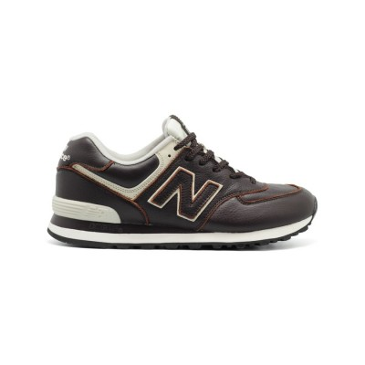 New Balance Мужские 574 Leather Brown