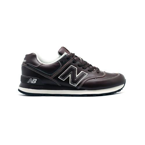 New Balance Мужские 574 Leather New Brown