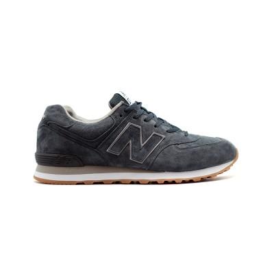 Мужские кроссовки New Balance 574 XXL Navy Grey