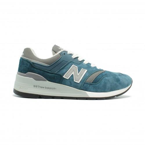 New Balance Мужские Huge 997 Blue-Grey