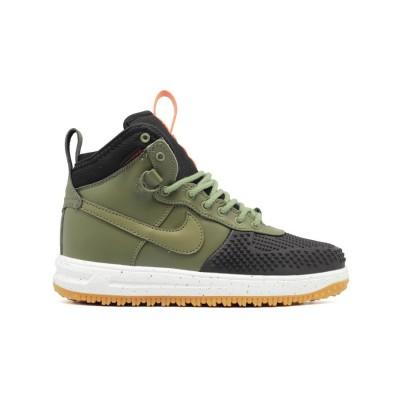 Мужские кроссовки Nike Lunar Force 1 DUCKBOOT Black Khaki Speck