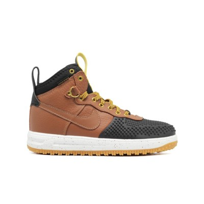 Мужские кроссовки Nike Lunar Force 1 DUCKBOOT Black-Wood Speck