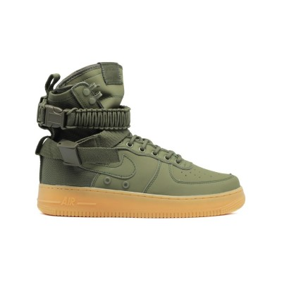 Мужские кроссовки Nike SF AF1 Special Field Air Force 1 Women Khaki