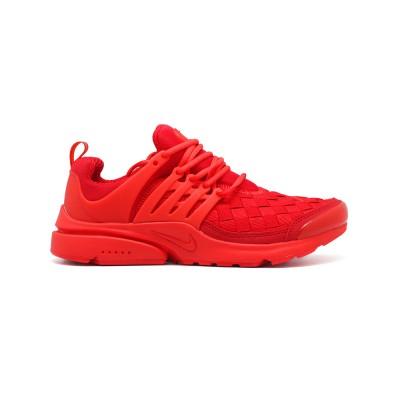 Мужские кроссовки Nike Air Presto Woven Red - BeInKeds.ru