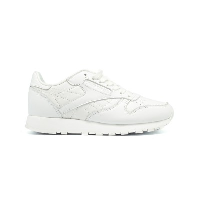 Мужские кроссовки Reebok Classic Lether White - BeInKeds.ru