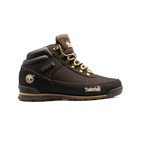 Мужские ботинки с мехом Timberland Euro Sprint Brown