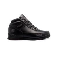 Мужские ботинки с мехом Timberland Euro Sprint Leather Black