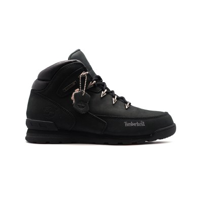 Мужские ботинки с мехом Timberland Euro Sprint Luxury Pack Black - BeInKeds.ru