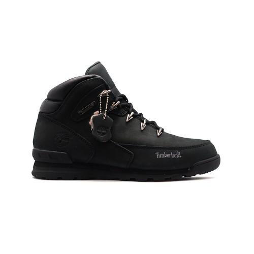 Мужские ботинки с мехом Timberland Euro Sprint Luxury Pack Black