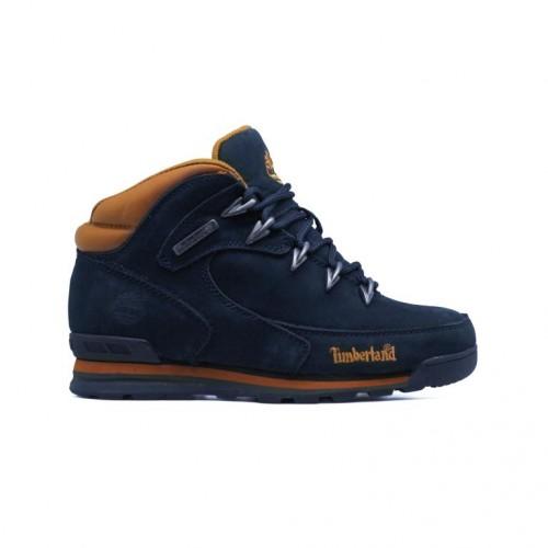 Мужские ботинки с мехом Timberland Euro Sprint Luxury Pack Navy