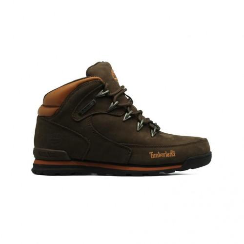 Мужские ботинки с мехом Timberland Euro Sprint Luxury Pack Brown