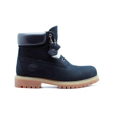 Мужские ботинки с мехом Timberland 10061 New Navy - BeInKeds.ru